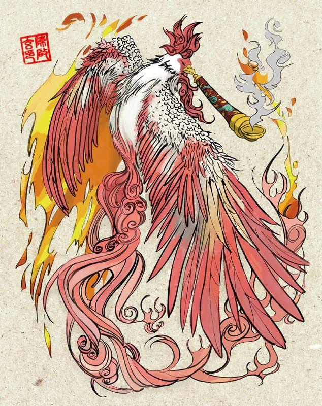Okami Moegami By Chisien Japanese Mythology Japanese Myth