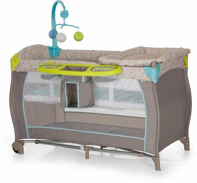 Reisebett »Babycenter Multi Dots Sand« Reisebett, Kinder
