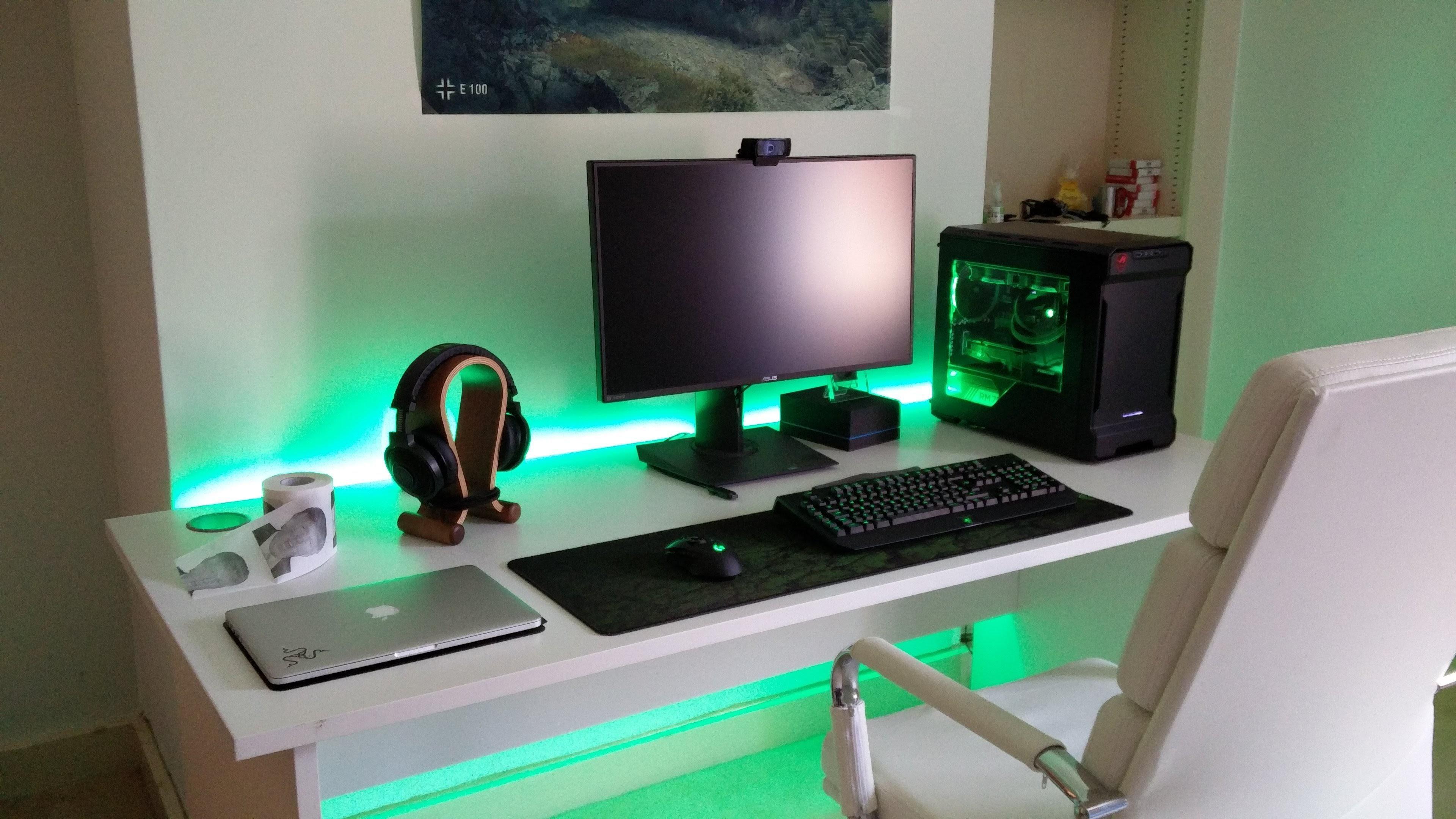 My RGB Gaming setup Детская для мальчика, Интерьер, Детские