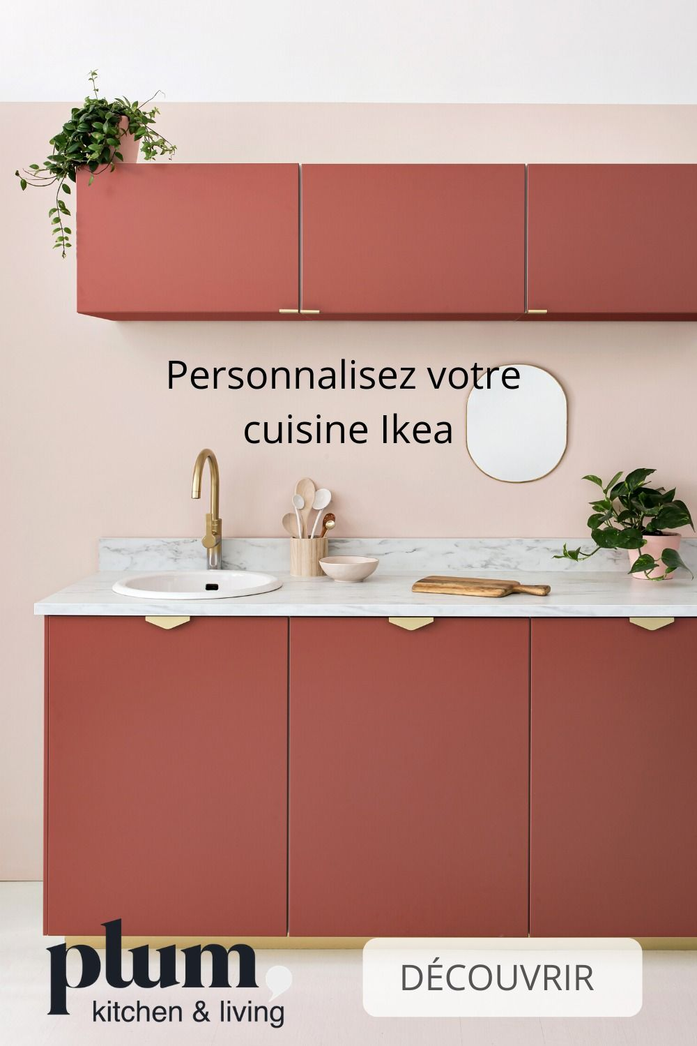 cuisine ikea facade sans poignee