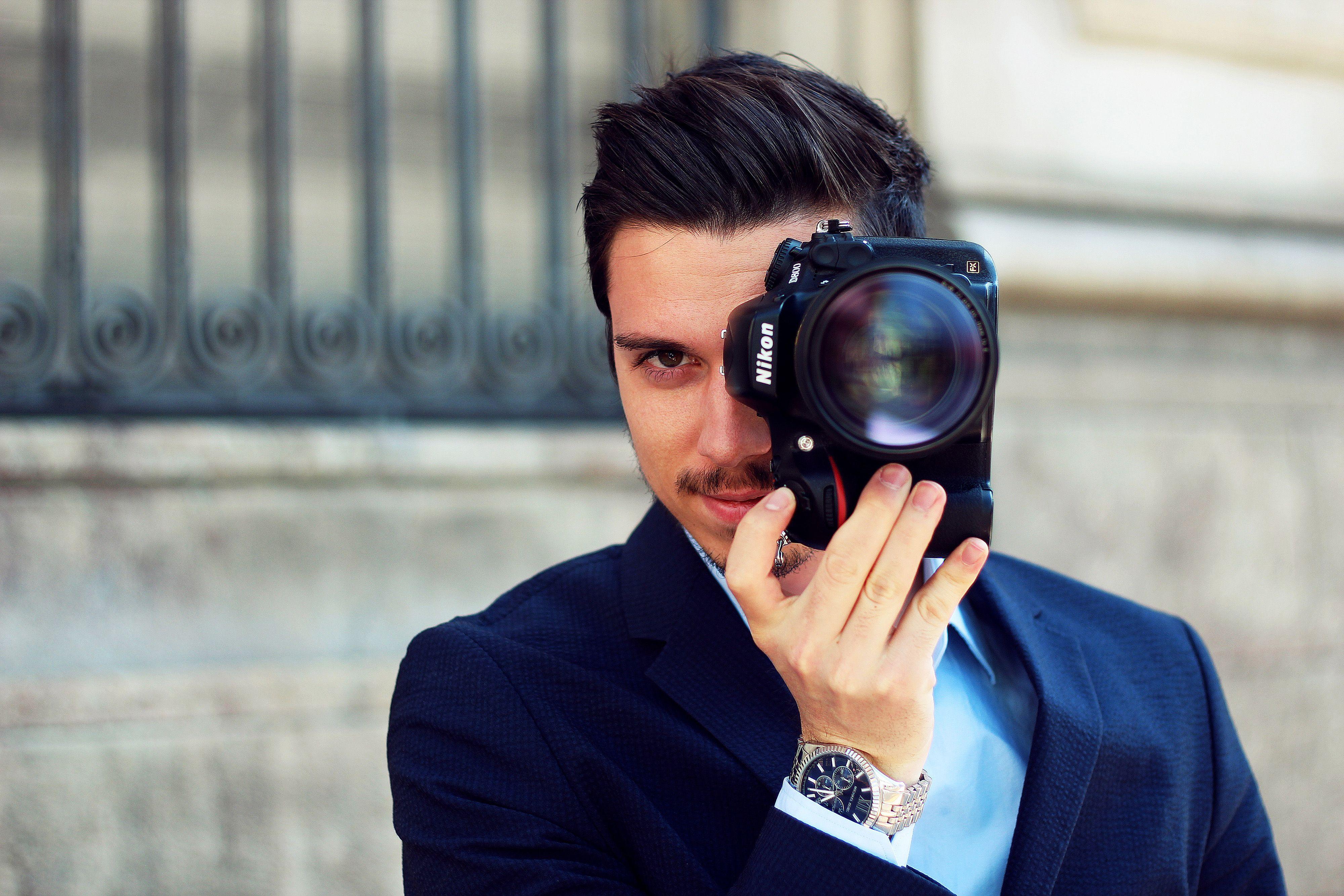 фото фотографов с фотоаппаратом отобразится