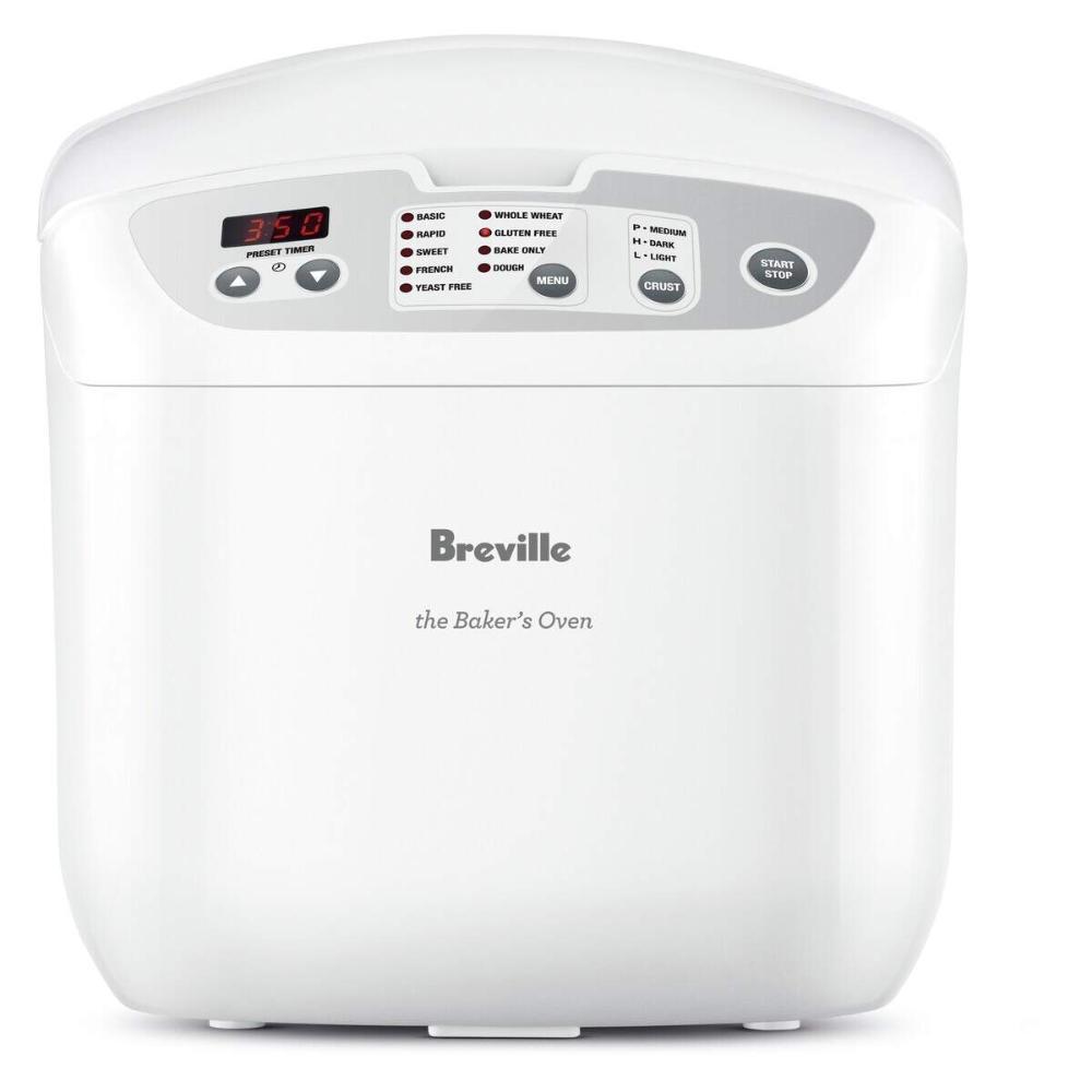 Breville Bakers Oven Electronic Bread Maker Bbm100 Bakers Oven Bread Maker Bakers