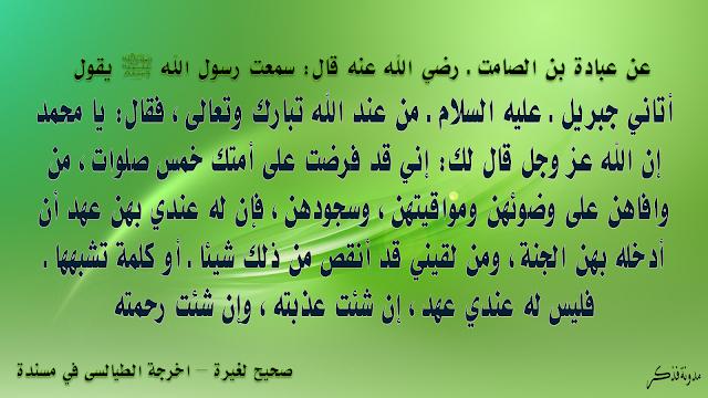 شرح الحديث القدسي من صل صلاة لم يقرأ فيها بأم القران فذكر Koran Pray Arabic Calligraphy