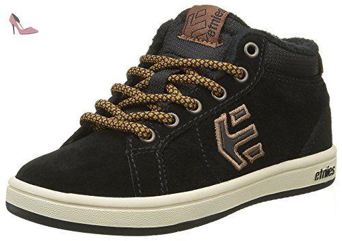 Etnies Barge LS, Chaussures de Skateboard Hommes - Noir - Black (Black/Grey/Gum579), 39 EU
