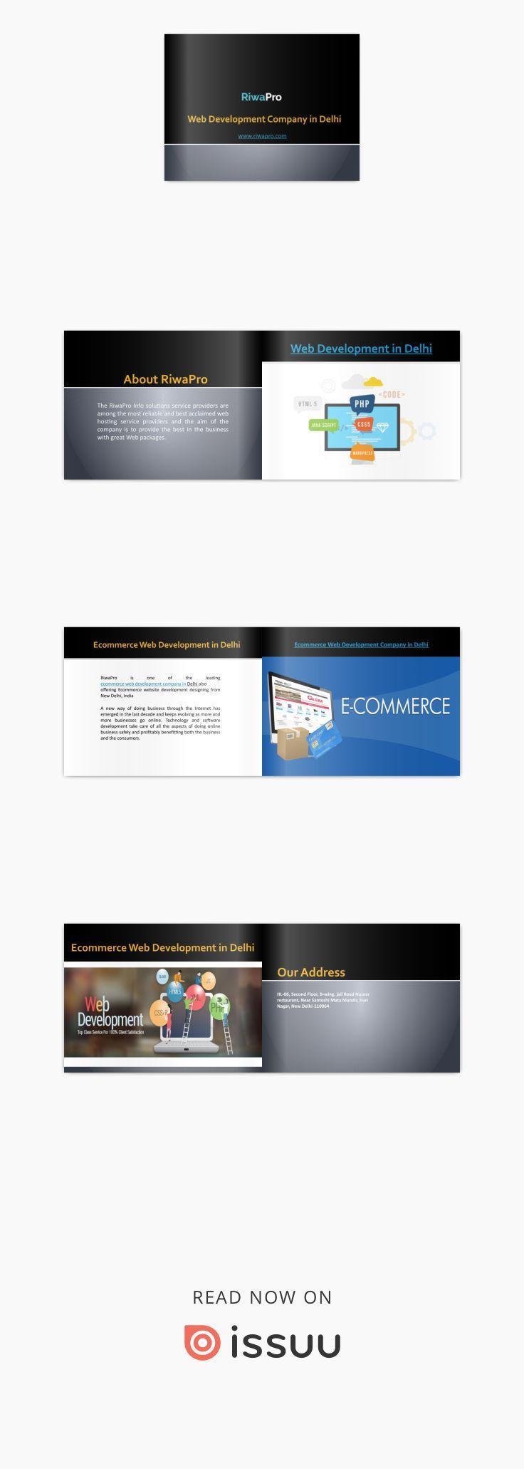 Best Web Development Company In Delhi Riwapro Web Development Web Development Company Ecommerce Web Design
