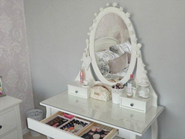 ikea hemnes dressing table the beauty trove pinterest. Black Bedroom Furniture Sets. Home Design Ideas