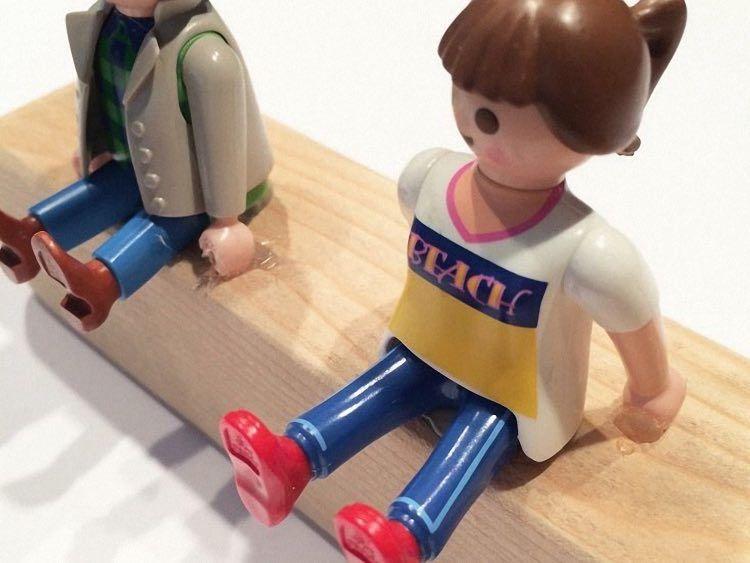 diyanleitung garderobe aus playmobilfiguren bauen via
