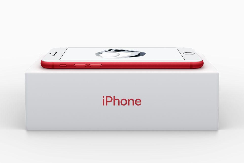 452aa1d172d iPhone 7 и 7 Plus в красном цвете \ Technology Компания Apple ежегодно  участвует в программе RED Глобального фонда для борьбы со СПИДом.