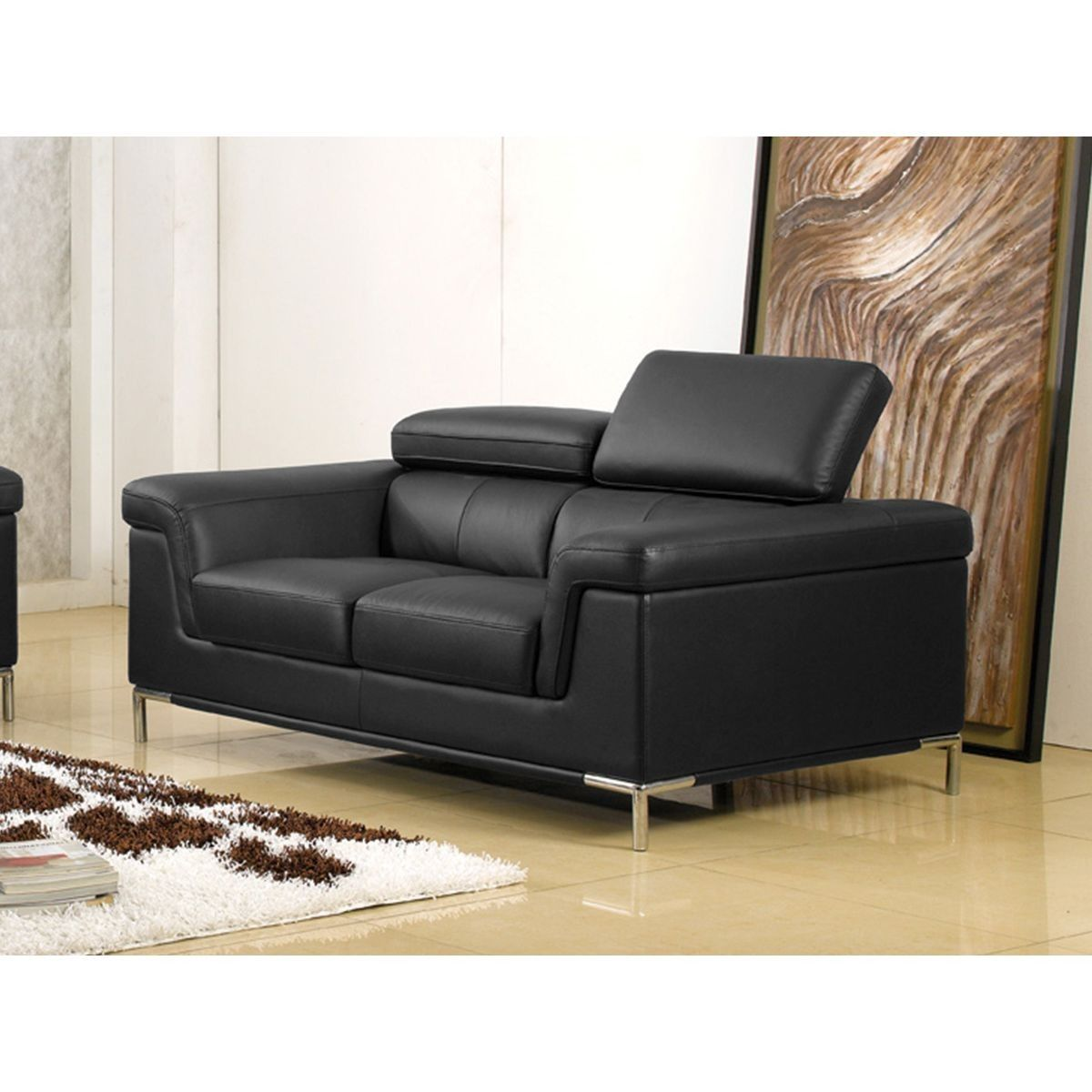 Fauteuil Cuir Rania Taille 1 Place Fauteuil Cuir Fauteuil