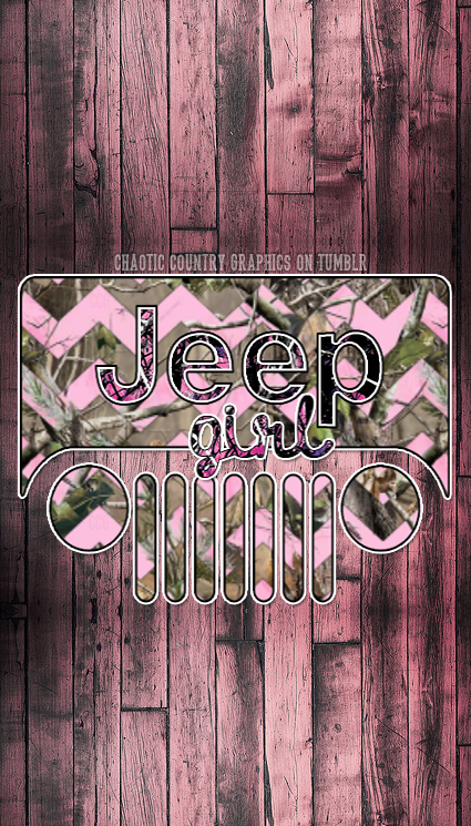 Jeep Girl Realtree Camo Chevron Phone Love Jeep