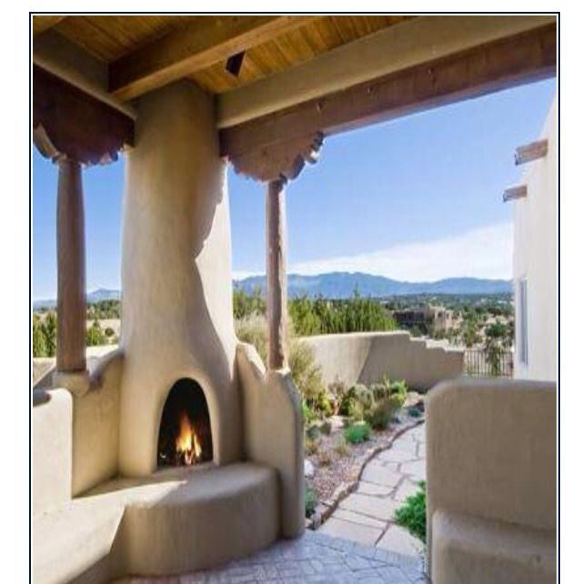 Beehive Fireplace For The Patio