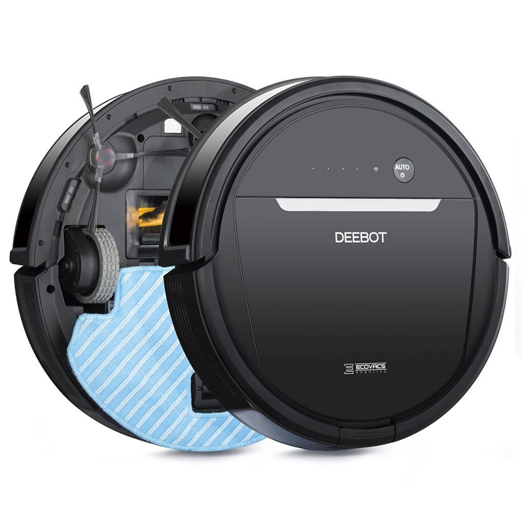 ECOVACS DEEBOT OZMO 601 Robotic Mop & Vacuum Cleaner with
