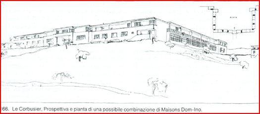 Combinazione Di Maison Domino  A  Le Corbusier