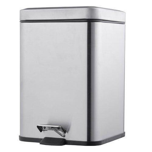 Sabichi 172563 Square Kitchen Rubbish Waste Dust Pedal Bin ...