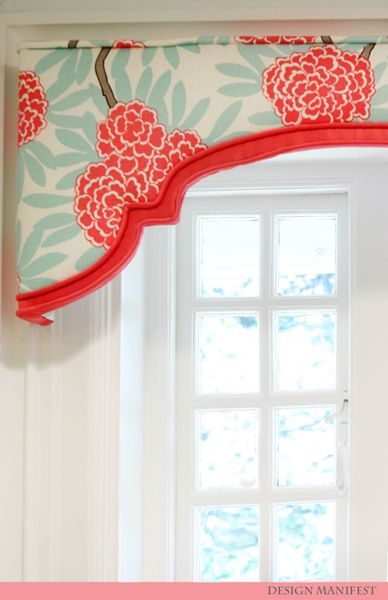 Valance For A Bathroom Window With Matching The Shower Curtain