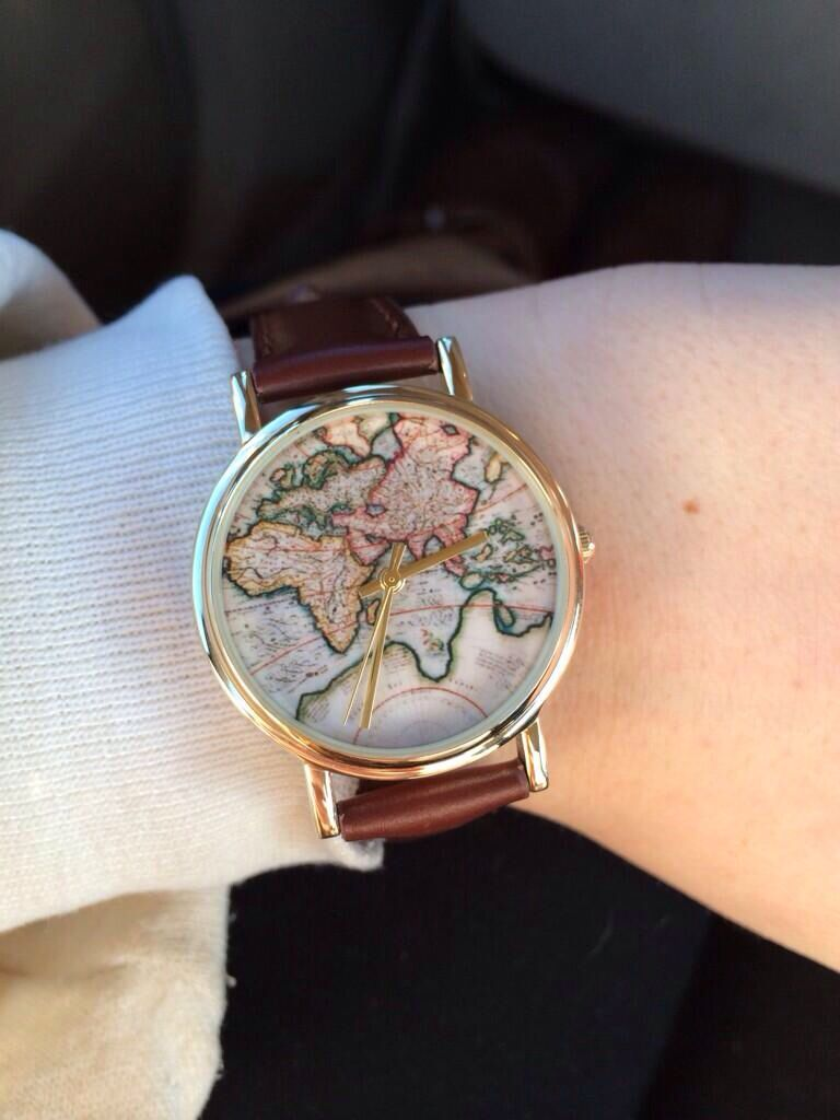 Urban Outfitters World Map Watch.World Map Watch 34 At Urban Outfitters Accessories Watches Map