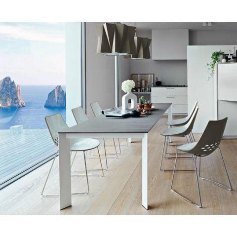 chaises JAM pieds luge - Calligaris - La Suite Magasin mobilier