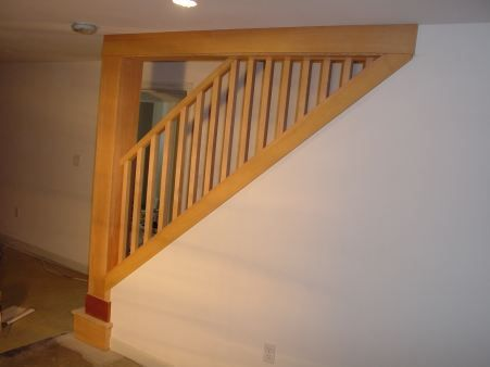 Best Basement Stairways New Post Handrail And Part Of The 640 x 480