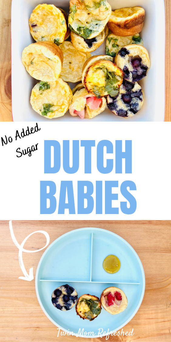 Mini muffin Dutch babies are a healthy snack idea for kids ...