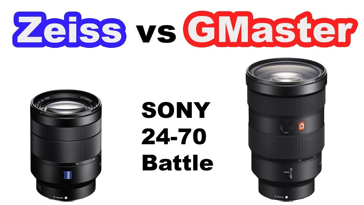Sony 24 70 Lens Battle Gmaster Vs Zeiss Https Www Camerasdirect Com Au Sony Fe 24 70mm F2 8 Gm E Mount Lens Zeiss Sony Sony Lenses