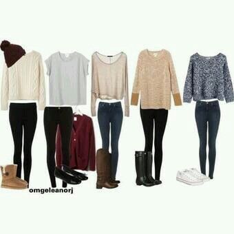 Sweater outfits