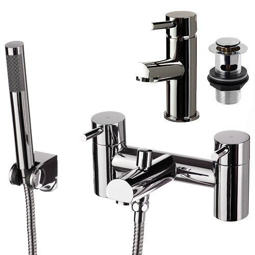 Dalton Bathroom Tap Set Basin Tap Bath Tap Shower Head - Product ...