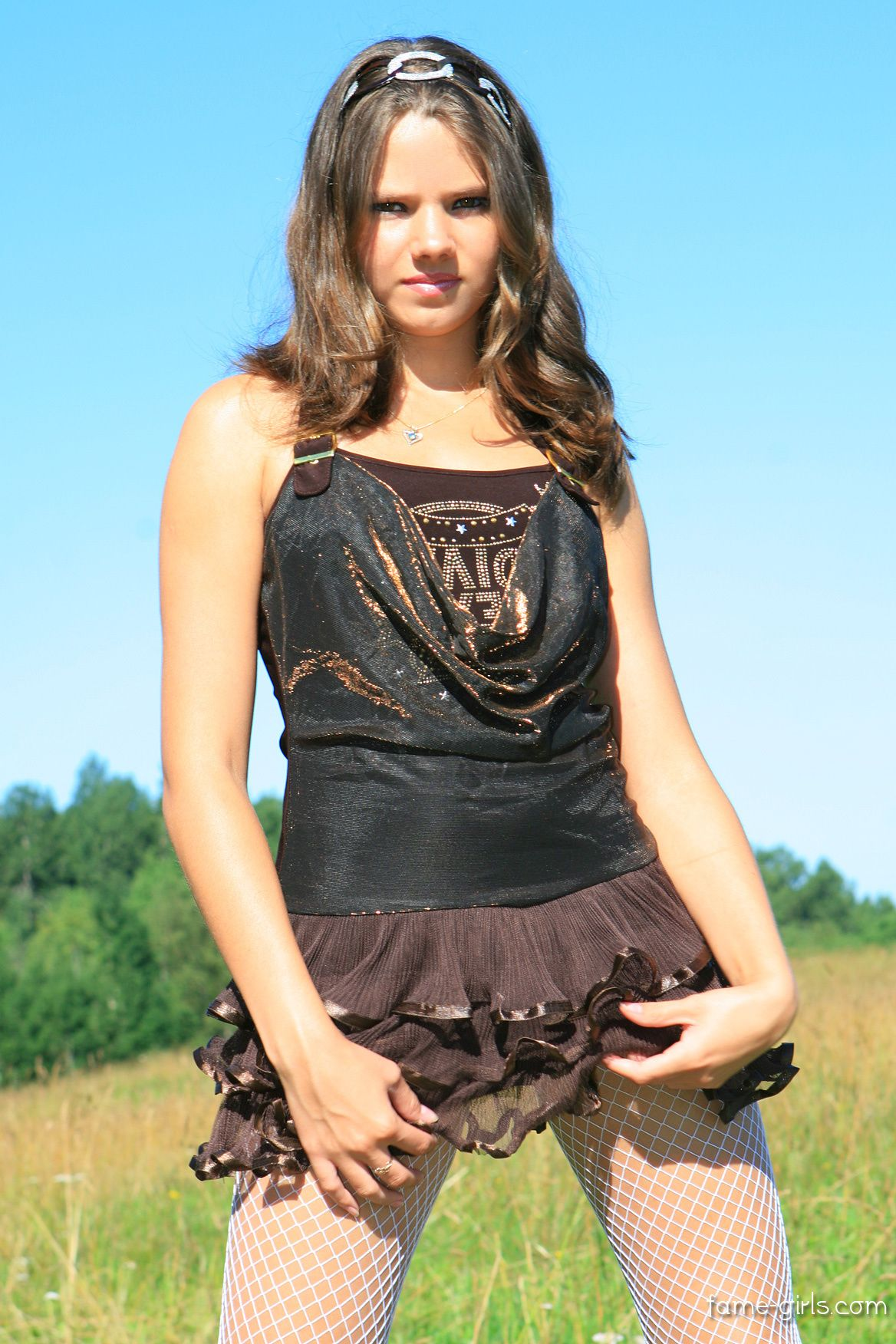 sandraorlow Sandra Orlow, pretty model in cute outfit
