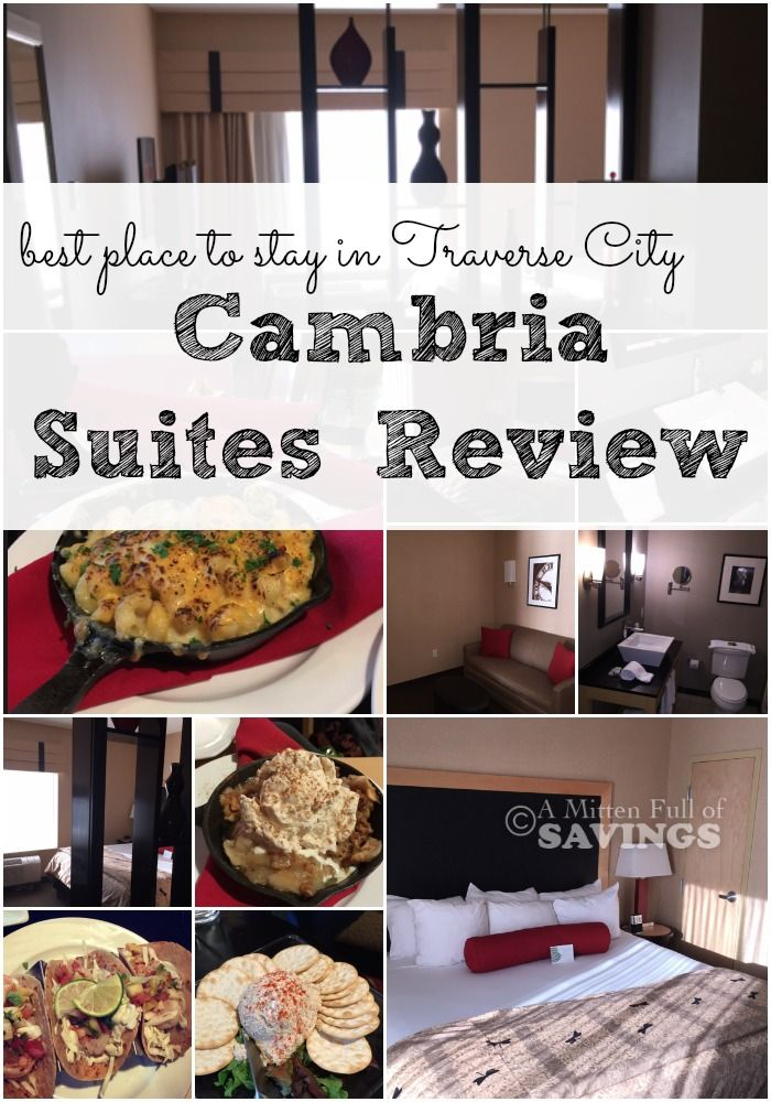 Best Place to Stay in Traverse City {Cambria Suites Review} | http://www.amittenfullofsavings.com/best-place-to-stay-in-traverse-city/