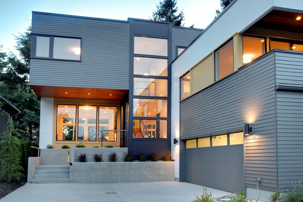 Modern house siding exterior contemporary with cable for Modernized exteriors