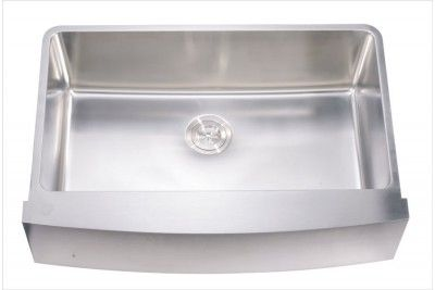 Dawn Daf3320c Sink Undermount Apron Front Sink Stainless Steel