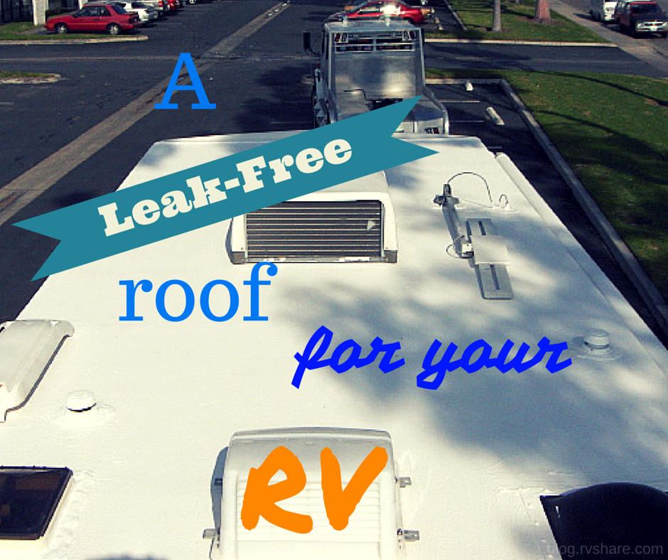 The roof is the most important part of every shelter because of the protection it serves us against the different weather of the world today. Especially on RVs, having a 'leak-free' roof is very imperative. I'm sure it's much better watching the rain outside rather than seeing drops of it 'inside' your trailer home. So,