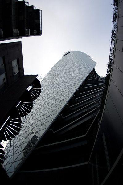 Nagoya Spirals (behind Moda Gakuen Spiral Tower)