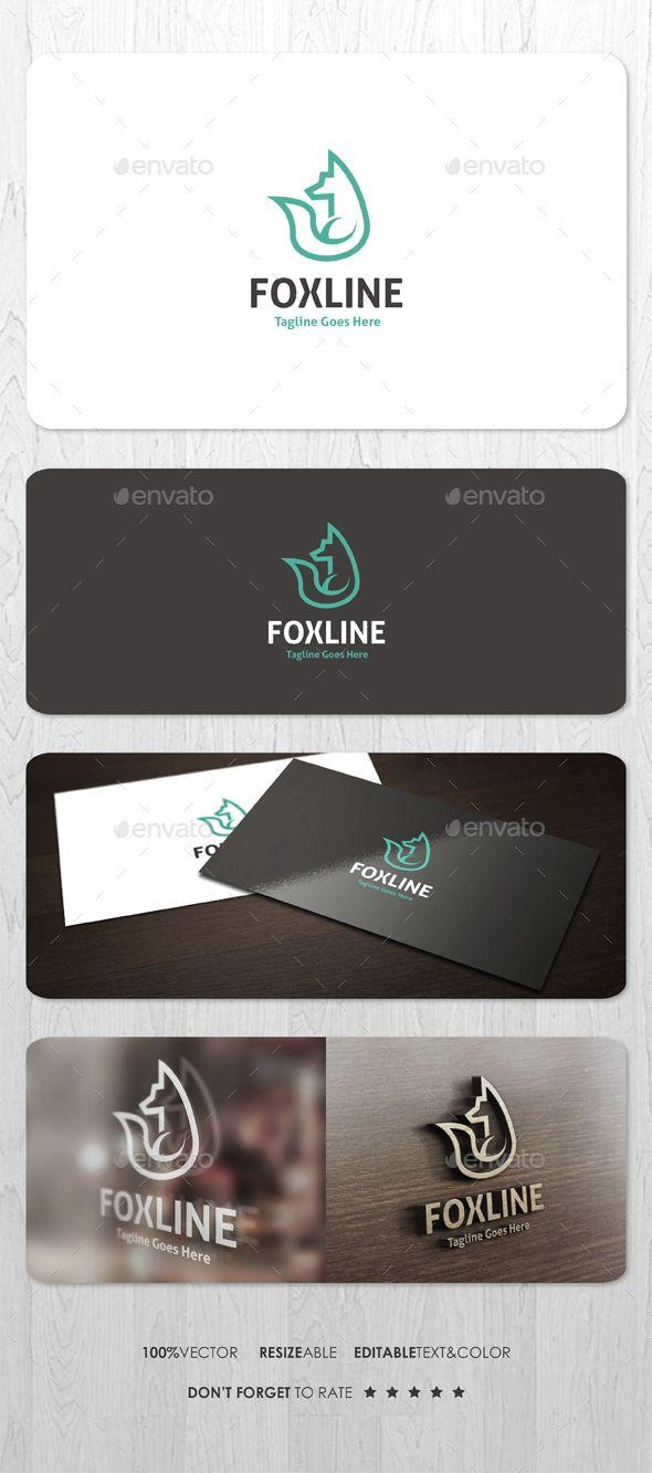 http://graphicriver.net/item/fox-line-logo/14604660
