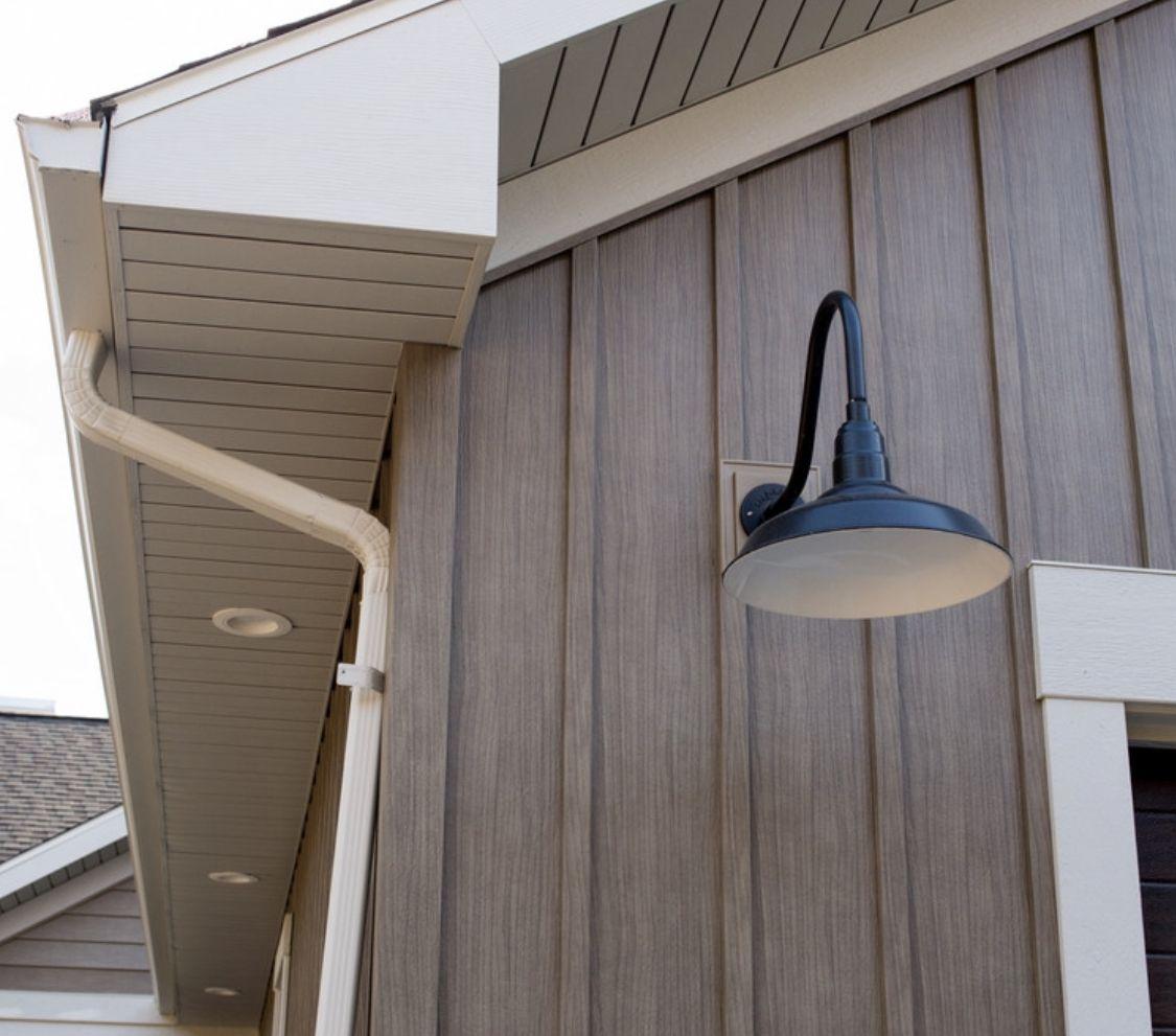 Napa Vine Trucedar Metal Siding 10 Board And Batten Wood Siding Exterior Exterior Wood Siding Colors Exterior House Siding