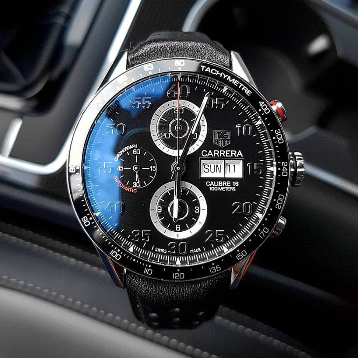 b6f1813f4bd Carrera Calibre 16 Day-Date by  time.onmyhands  tagheuer  tagheuercarrera