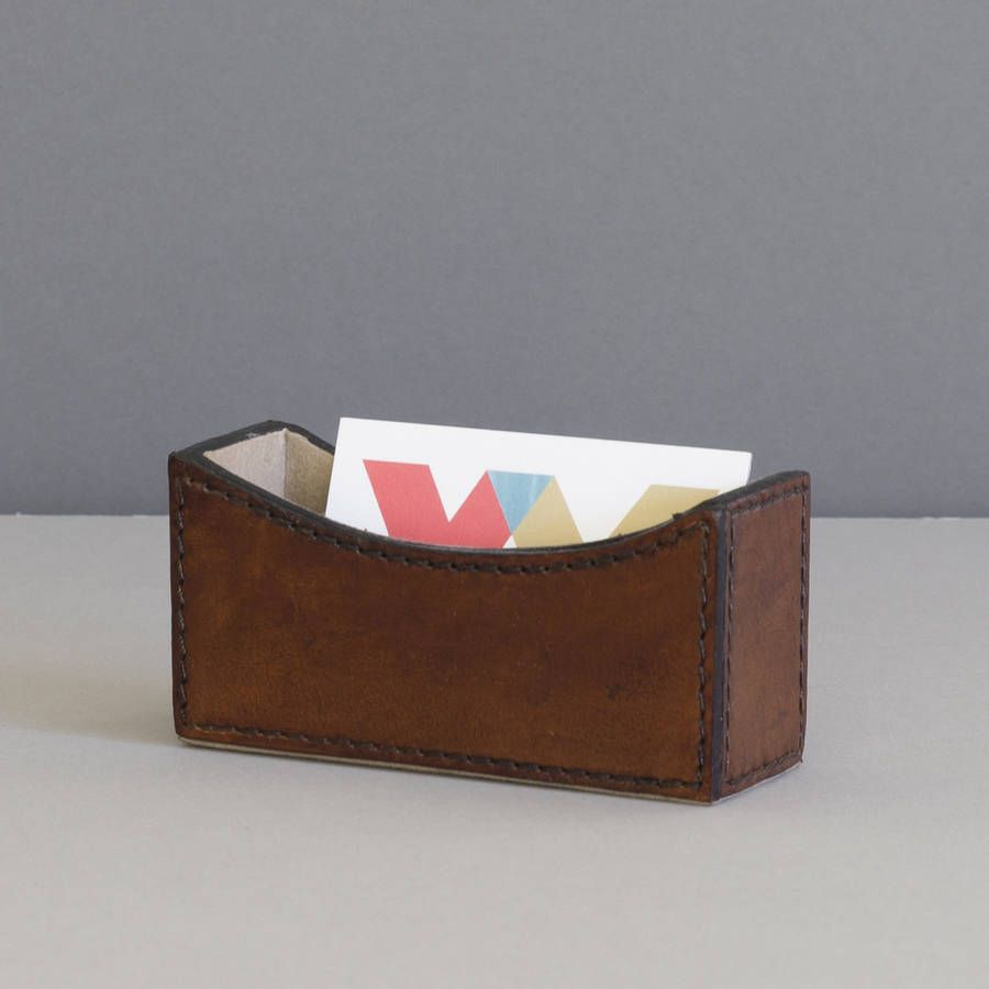 Personalised leather business card holder business card holders personalised leather business card holder colourmoves