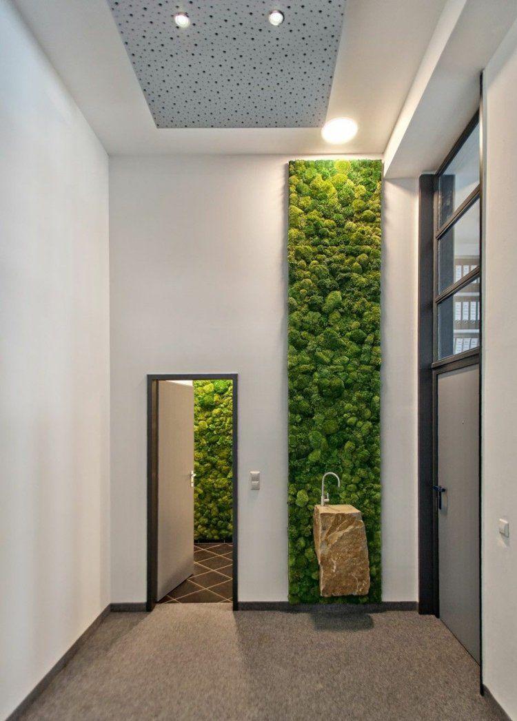Deko in Natur Optik - Rinde, Moos und andere Design Ideen   Garten ...