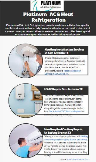 Platinum Ac Heat Refrigeration Provide Customer Satisfaction