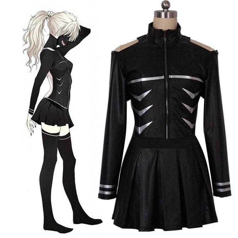 Anime Tokyo ghouls Kaneki Ken Fight Uniform Made Cosplay Costume Free shipping