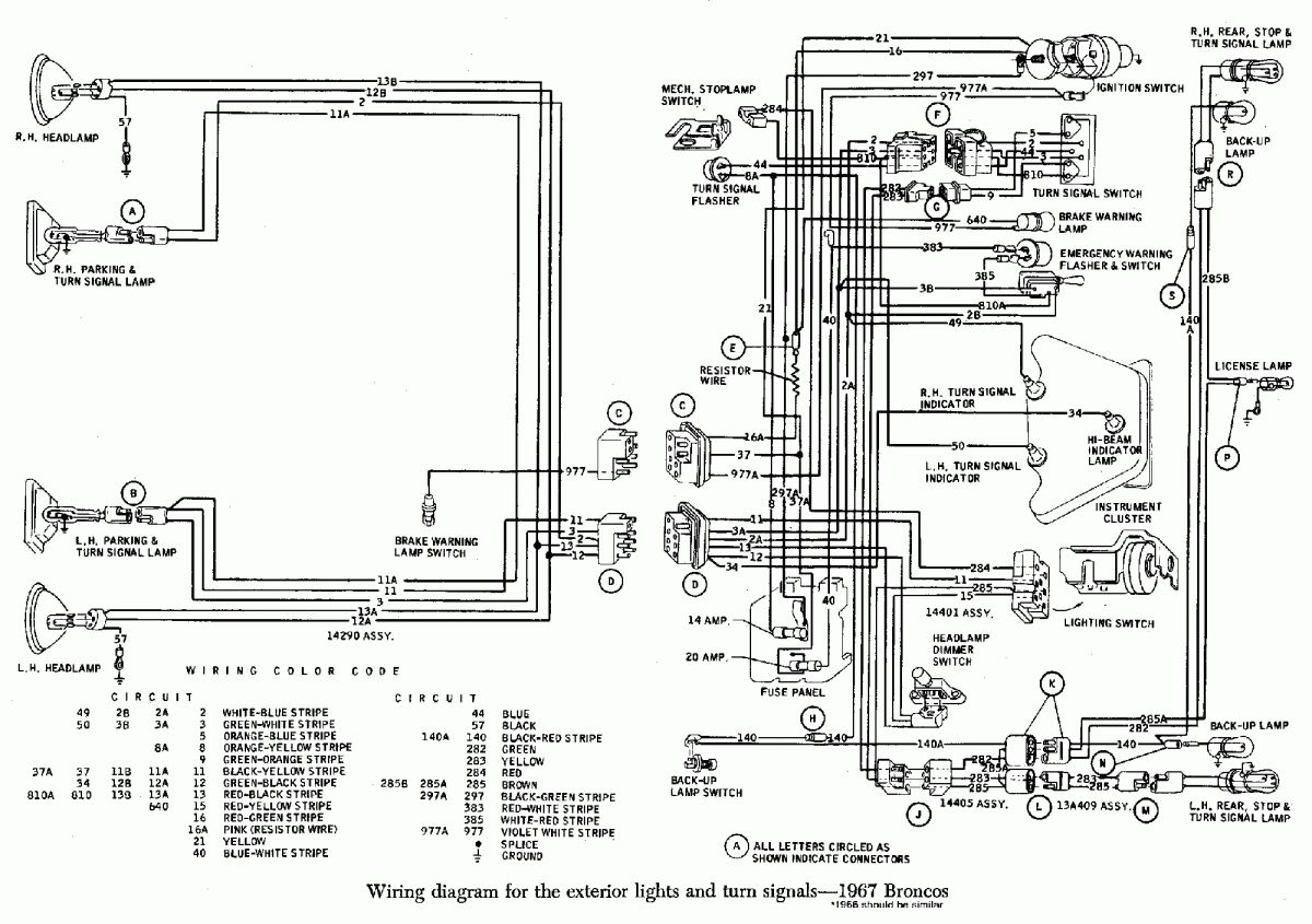 16 Early Bronco Engine Wiring Diagram Engine Diagram Wiringg Net Early Bronco Bronco Diagram