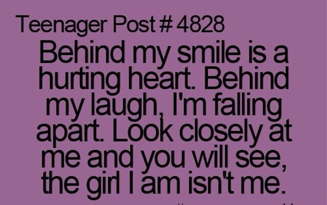 Behind My Smile Girl Quotes Teenager Posts Teenager Quotes