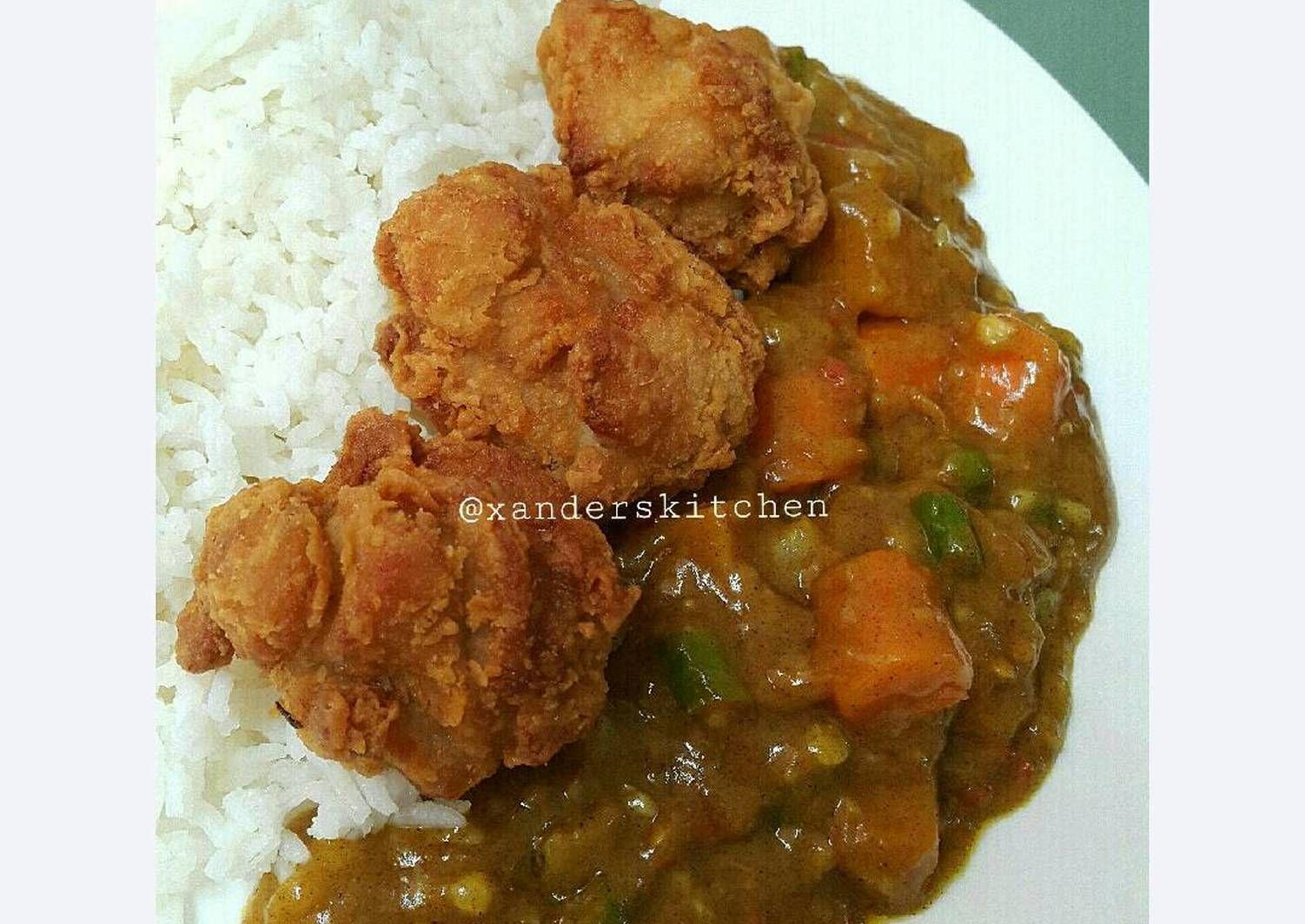 Resep Kaarage Curry Rice Ala Sushi Tei Oleh Xander S Kitchen Resep Resep Ayam Sushi Tumis
