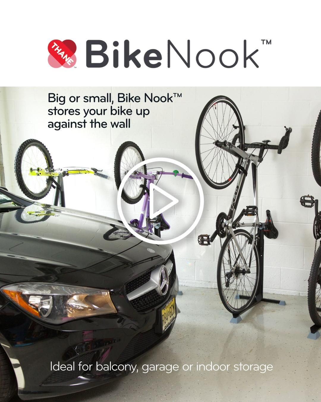 Bike Nook™ Bike Storage
