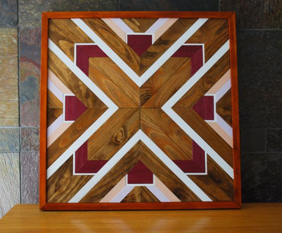 5bf47a28c7 ~Navajo Tribal Geometric design wood wall art, Indian design wood wall art.  Size is 22-1/2 x 22-1/2. ~ YOU WILL BE PURCHASING THE PIECE SHOWN IN THESE  ...