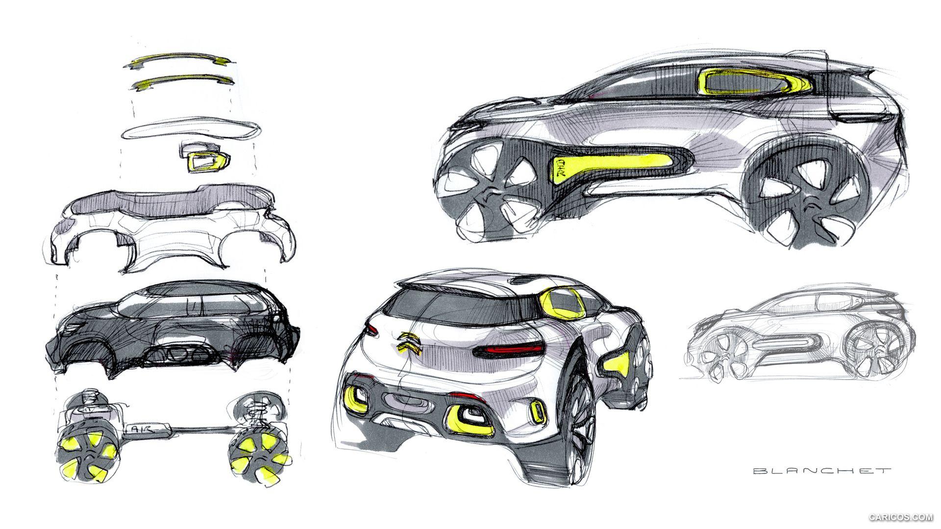 Citroen Aircross Concept Wallpaper
