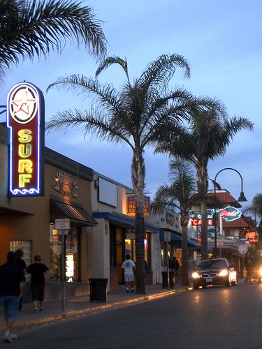 A Night In Downtown Pismo Beach
