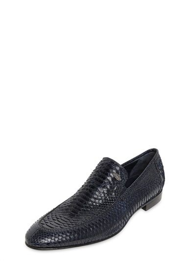 333e9dd257d ROBERTO BOTTICELLI • PYTHON LOAFERS Only Shoes