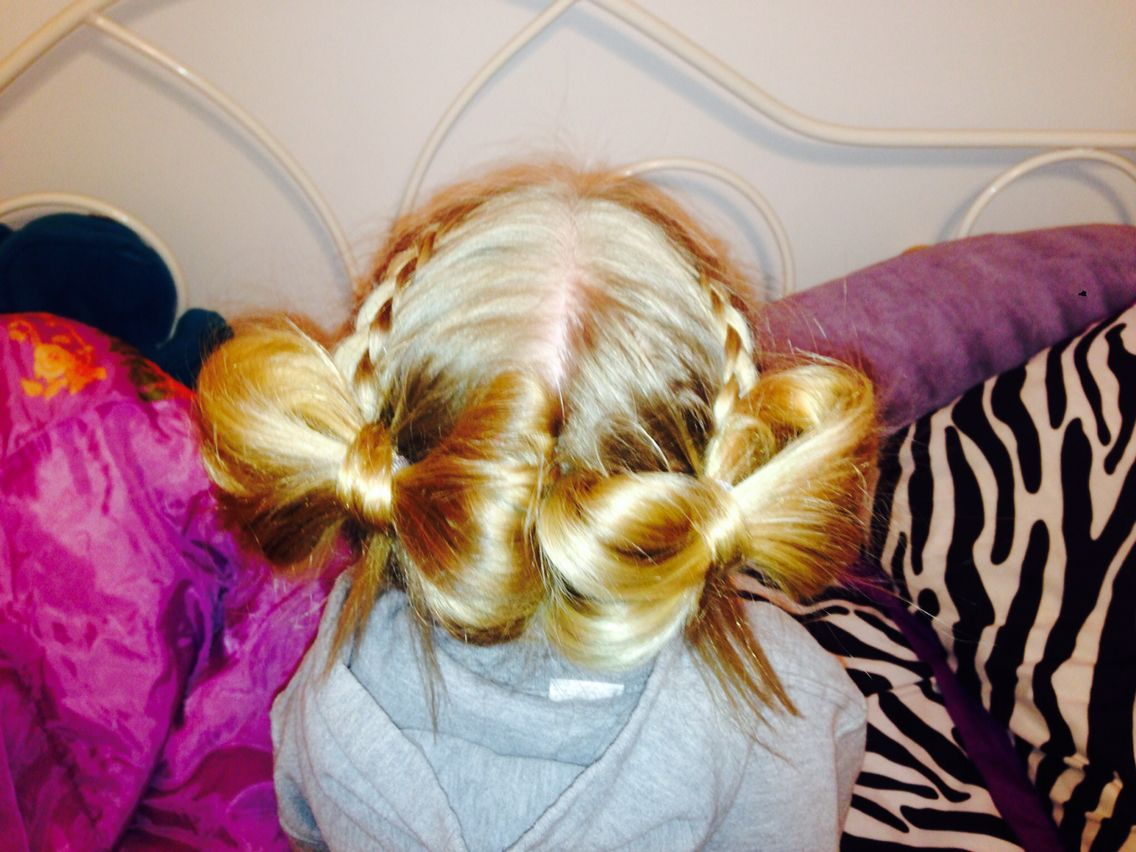 Double side haircut for boys double hair bows  emma jean swag  pinterest  hair bow