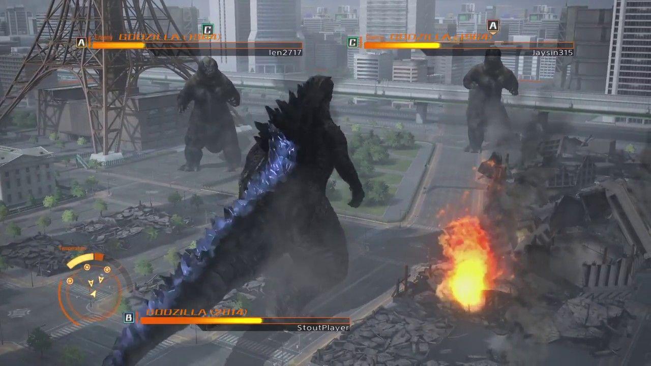 GODZILLA PS4 : Godzilla 2014 vs 2 Godzilla 1964 | Godzilla ps4, Godzilla  2014, Godzilla