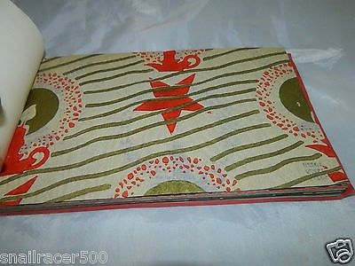 NORCROSS CHRISTMAS book sample 30s 1930 paper wrapping gift wrap ...
